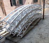 چین Heavy Duty Aluminum Roof Truss System WIth PVC Material Roof Tent , Aluminum Roof Truss کارخانه