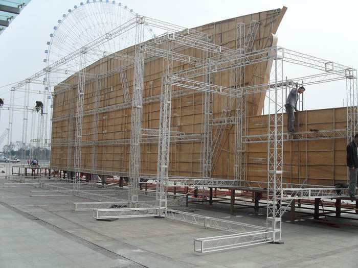 Large Stage Lighting Truss Non-toxic For Outdoor Performance
